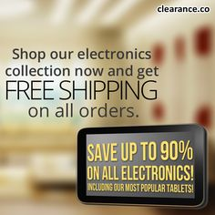 Don't Miss out on our HOT Electronics Event- Last Day! Save up to 90% On ALL of our Electronic products including our popular #Google Android Tablets! Order today, going fast - Clearance.co #electronics #google #tablets Android, Cards Against Humanity, Popular, Electronics, Hot, Google, Products, Most Popular, Beauty Products