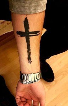 Cross Tattoo On Wrist, Wrist Bracelet Tattoo, Cuff Tattoo, Back Tattoo, Armband Tattoo, Meaningful Wrist Tattoos, Cute Tattoos On Wrist, Cool Tattoos For Guys, Cross Tattoos For Women