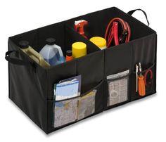 Keep your car trunk organized! Soft Storage Chest, Black Folding Trunk Organizer