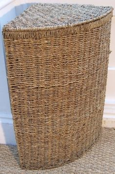 Rattle Basket Lidded 29cm Freedom Furniture And