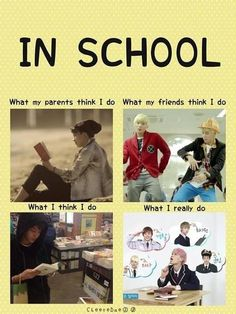 An hats why I have the grades I have and the social life I have. Only 2 friends and they love kpop too LOL XD
