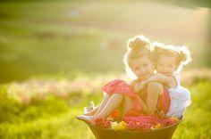 Beautiful light and beautiful child photo. |  Photo by Munchkins and Mohawks Photography.