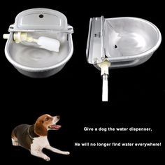En acier inoxydable Animal fontaine d'eau l'eau automatique potable chien distributeur d'eau fournir eau douce pour animaux / animaux dans Réserves en eau et nourriture pour chien de La maison, cuisine et Jardin sur AliExpress.com   Alibaba Group