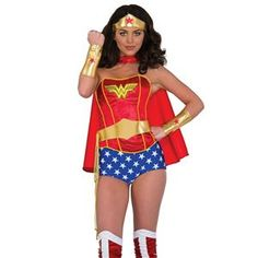 2018 Adult Wonder Woman Accessories Kit 32472 and more Superhero / Villain Costumes for Women, Women's Halloween Costumes, Wonder Woman Costumes for Women for Dc Comic Costumes, Superhero Halloween Costumes, Wholesale Halloween Costumes, Adult Costumes, Costumes For Women, Woman Costumes, Halloween Party, Trendy Halloween, Halloween Ideas