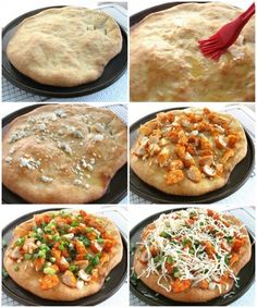 Buffalo Chicken Pizza: step-by-step directions and tips.