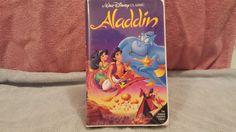 Aladdin (VHS 1993) - Walt Disney's Black Diamond Classic