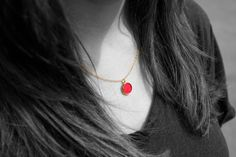 the EPSYLON necklace - awesome in red! and it comes in various colors! check it out on the website