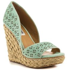 Mint Wedge Espadrilles