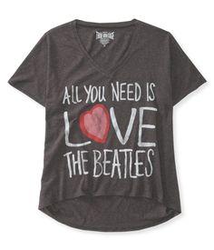Love Hi-Lo Graphic T -