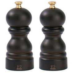 Peugeot Paris 4.75-Inch Salt and Pepper Mills in Chocolate - BedBathandBeyond.com
