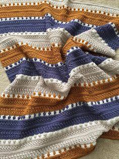 Crochet Afghans, Crochet Stitches Free, Afghan Crochet Patterns, Baby Blanket Crochet, Free Crochet, Knitting Patterns, Crochet Blankets, Beautiful Crochet, Crochet Projects