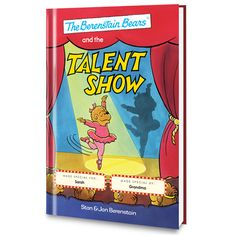 The Berenstain Bears and the Talent Show Personalized Book - Personalized Books - Books | Tv's Toy Box