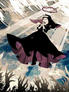 鮫子@MRiSH on Anime Fairy, Onii San, Kleidung Design, Draw On Photos, Anime Kunst, Ichimatsu, Magical Girl, Fantasy Creatures, Anime Manga