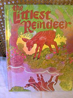 The Littlest Reindeer Johanna De Witt by SevenSistersBooks on Etsy