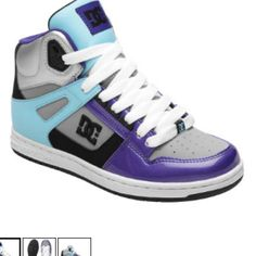 DC Women's Rebound Hi Shoes