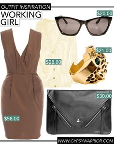 GYPSY WARRIOR - Outfit Inspiration - Working Girl