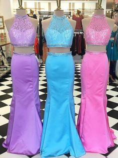 2 piece prom dresses, mermaid two piece prom dresses, 2 piece prom dresses mermaid, long mermaid prom dresses, new arrival prom dresses, prom dresses new arrival, halter prom dresses for women, lace meramid prom dresses, beaed prom dresses