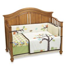 notNeutral® Arbor Friends 4-Piece Crib Bedding. This is our nursery theme. :)