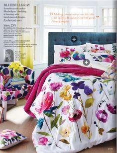 Bluebellgray Home Bedroom, Girls Bedroom, Bedroom Decor, Bedroom Ideas, Bluebellgray, Floral Bedding, Sweet Home Alabama, Cool Beds, House Colors