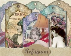 le peu de rêves Tags instant download digital von digitalRefugium, €3.40 Download Digital, I Gen, Digital Collage, Collage Sheet, Get One, Gift Tags, Create Your Own, Printables, Etsy