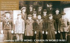 Photo scanned from Life at Home, Canada World War I.
