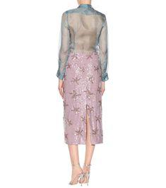 Sequinned Skirt - Dries Van Noten | mytheresa