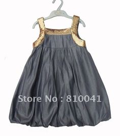 Wholesale 6 Pcs Cotton Baby Girls Dresses Kids Bowknot Clothing Free Shipping 0510008 BD-in Dresses from Apparel & Accessories on Aliexpress.com