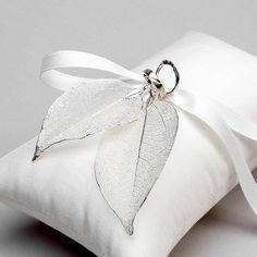 Wedding Ring Bearer Pillow Rustic Wedding Bridal Ring by woomipyo, $45.00