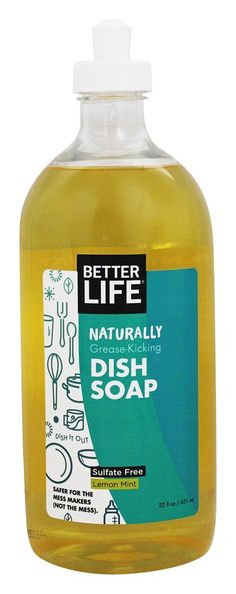 Save on Naturally Grease-Kicking Dish Soap Lemon Mint by Better Life and other Dishwashing Products          and Biodegradable remedies         at Lucky Vitamin. Shop online for Natural Home, Better Life items, health and wellness products at discount prices.