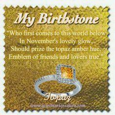 -my birthstone yes, but I'm not a fan of any big bird colored stones. Topaz Jewelry, Birthstone Jewelry, Topaz Birthstone, Jewellery, November Baby, Sweet November, Birth Symbols, Astrology Zodiac, Scorpio Zodiac