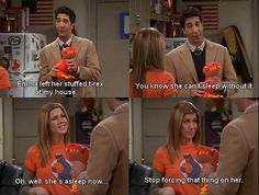 Ross and Rachel. Classic