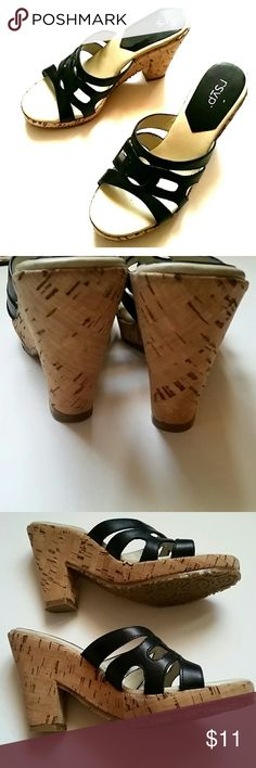 Rsvp cork heels Size 6 great condition besides part of tag that peeled off rsvp Shoes Heels