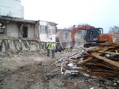 Demolition of old peoples Homes in Eastbourne