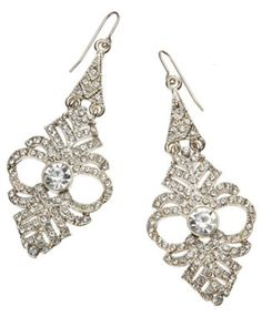 Jewelry gifts under $ 25: Sophia Chandelier earrings. Via Diamonds in the Library.