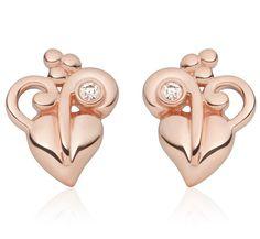 Clogau Earrings Tree of Life Stud Rose Gold #clogau #earrings