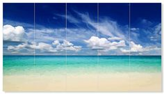 """"""" THE BEACH """" FREE POSTER 95cm x 53cm ( PRINT YOURSELF )Easily prints on your home printer using 10 sheets of A4 paper. Click on the title or the image for the download page Click the title or image..."""