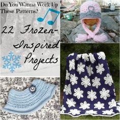 Do You Wanna Work Up These Patterns? 22 Frozen-Inspired Projects