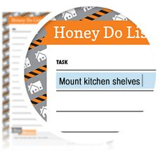 """Honey Do List - Download here: https://www.alejandra.tv/shop/printable-home-organizing-checklists/?productkind=checklists-for-personal-organization&utm_source=Pinterest&utm_medium=Pin&utm_content=HoneyDo&utm_campaign=Checklists/#personal   This list if a """"fun"""" way to politely ask your spouse to help with tasks around the home! Plus, it's always more effective to write tasks down on a checklist as opposed to verbally asking someone to do something and then quickly forgetting."""