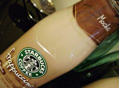 make your own starbucks frappucino bottles. absolutely love these things, saves so much money.