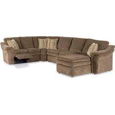 La-Z-Boy Devon Sectional Sofa with LAS Chaise - Item Number: 04Q+4MM+04C+40E-420 D948366