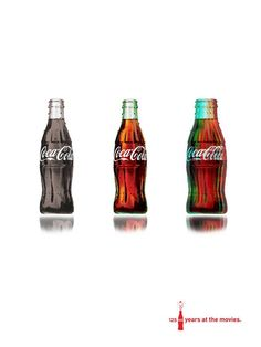 themed movie coke poster