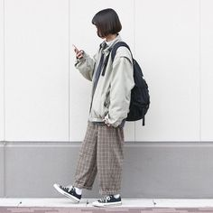 Mode Outfits, Retro Outfits, Korean Outfits, Vintage Outfits, Denim Fashion, Cute Fashion, Look Fashion, Fashion Outfits, Fashion Hacks
