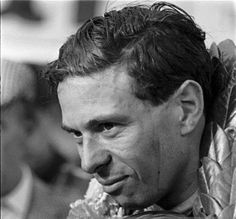 """Jim Clark : 48 years ago ...  7 April 1968, Clark died in a racing accident at the Hockenheimring, in Germany. He was originally slated to drive in the BOAC 1000 km sportscar race at Brands Hatch, but instead chose to drive in the Deutschland Trophae, a Formula Two race, for Lotus at the Hockenheimring, primarily due to contractual obligations with Firestone. Although the race has sometimes been characterized as a """"minor race meeting"""" the entry list was impressive with to"""