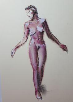 Model schets - pastel, 2020 My Arts, Model, Scale Model, Models, Template, Pattern, Mockup, Modeling