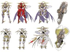 Nemesis Concepts from Xenoblade Chronicles
