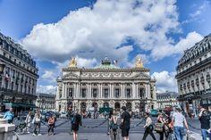 Όπερα Γκαρνιέ (Palais Garnier) , Παρίσι, Γαλλία, Ευρώπη Opera, Louvre, Building, Travel, Viajes, Opera House, Buildings, Destinations, Traveling