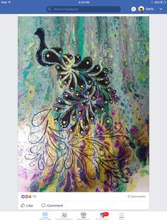 Silhouette Painting, Silhouette Studio, Acrylic Painting Inspiration, Fluid Acrylics, Pour Painting, Mixed Media Collage, Acrylic Pouring, Paint Ideas, Stencils