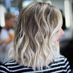 White blonde balayage by Stephen Garrison More