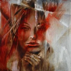 "Annette Schmucker, ""Here I am"" With a click on 'Send as art card', you can send this art work to your friends - for free!"