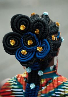 Afro-Colombian Hair Braiding